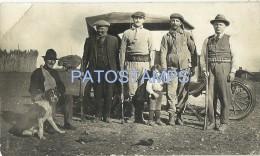 3847 ARGENTINA COSTUMES MAN´S HUNTER & DOG CAZADORES BREAK POSTAL POSTCARD - Argentinien
