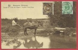 """Momignies - Paysage Au """"Chant Des Oiseaux """" - Frontière - Fermier Et Son Attelage -1926 ( Voir Verso ) - Momignies"""