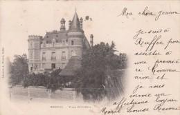 Cp , 16 , RUFFEC , Villa Duportal - Ruffec