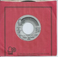 """45 Tours SP -  TONY ORLANDO  - BELL 45424  """" WHO'S IN THE STRAWBERRY PATEH WITH SALLY  """" + 1  (  U.S.A.  ) - Autres - Musique Anglaise"""