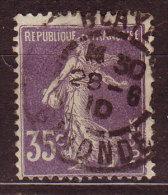 FRANCE - 1907 - YT  N° 142  -oblitéré - Beau Cachet - France