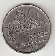 Brazil 50 Centavos 1970 Km  580a - Brésil