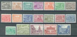 BERLIN - 1949 - MNH/** - MONUMENTS - Yv 28-46 Mi 42-60  - Lot 11411