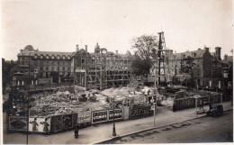 Carte  Photo  14  Caen , Place De La Republique , En Chantier , Construction D´un Edifice, Edition Delassalle - Caen