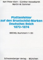 MICHEL Deutschland Brustschild-Handbuch 2001 Neu 78€ Deutsche Reich Plattenfehler DR Kaiserreich Special Catalog Germany - Pin's & Anstecknadeln