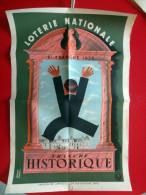 AFFICHE LOTERIE NATIONALE - 8 ème TRANCHE 1939 TRANCHE HISTORIQUE - Affiches