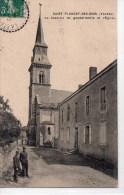 St Florent Des Bois : La Caserne De Gendarmerie Et L'église - Saint Florent Des Bois