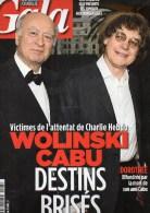 REVUE GALA- JE SUIS CHARLIE HEBDO - WOLINSKI- CABU- JANVIER 2015 - Documents Historiques