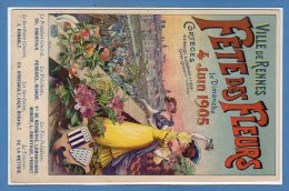 35 - RENNES -- Fête Des Fleurs 4 Juin 1905 - Rennes