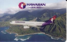 Hawai Membercard  Hawaiian Airlines Giftcard - Vliegtuigen
