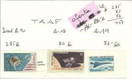 ESPACIO - FRANCIA / TAAF - SATELITES COMUNICACION Y AVIACION - Space