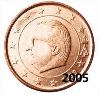** 2 CENT EURO  BELGIQUE 2005 PIECE NEUVE ** - België