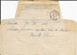 1948 - FORMULE TELEGRAMME De URMATT (BAS-RHIN) - 1921-1960: Periodo Moderno