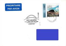 Estonia Estland Estonie 2014 Special Postamark - Personalized Stamp - Estonian Song Festival, Music (addressed Cover) - Estonia