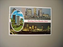 ETATS UNIS TX TEXAS GREETINGS FROM HOUSTON - Houston