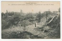 62 - Neuville-Saint-Vaast           Vue Générale De Ce Qui Reste Du Village - France