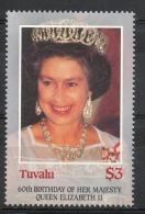 Tuvalu 1986 - Regina Elisabetta II Queen Elizabeth II MNH ** - Tuvalu