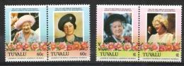 Tuvalu 1985 - Regina Madre Elisabetta Queen Mother Elizabeth MNH ** - Tuvalu