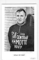 Gilbert DE SMET, Autographe Manuscrit, Dédicace. 2 Scans. Pull Over Centrale - Cycling