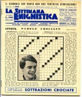 297> Raro: LA SETTIMANA ENIGMISTICA N° 2056 Del 21 AGOSTO 1971 Con Massimo Ranieri - Libri, Riviste, Fumetti