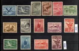 1956 - 1962 - Cuba - Sc. C136/C142** - C205** - C235/C237** - MNH - centrados de superlujo - calidad extra