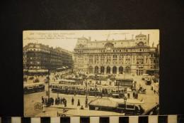 CP, 75, PARIS La Gare Saint-Lazare Et La Rue De Rome N° 266 Voyagé En 1931 - Pariser Métro, Bahnhöfe