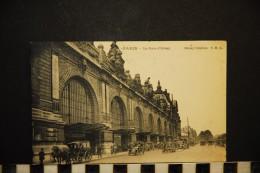 CP, TRANSPORTS CHEMINS DE FER GARES PARIS La Gare D'ORSAY Voyagé En 1925 - Bahnhöfe Ohne Züge