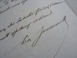 Léon JOURNAULT (1827-1892) Maire De Sèvres - Député SEINE & OISE - Autographe - Autographes