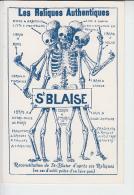 """RT27.434   LES RELIQUES AUTHENTIQUES St-BLAISE EDITE PAR """"LA CALOTTE"""" - Religions & Beliefs"""