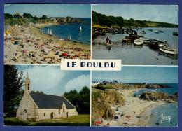 29 LE POULDU Grands Sables Et Pointe Port-Castel, Port, Chapelle ND De La Paix, Plage Du Kérou ; Canots, Voiliers 4 Vues - Le Pouldu
