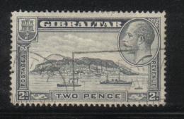 W1019 - GIBILTERRA 1931 , GIORGIO V  N  93 Usato. - Gibilterra