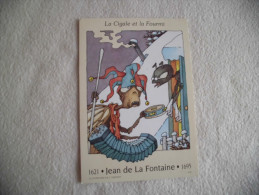 LA CIGALE ET LA FOURMI....JEAN DE LA FONTAINE... - Contes, Fables & Légendes