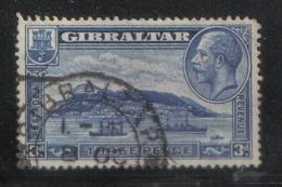 W1097 - GIBILTERRA 1931 , GIORGIO V  N  94A Dent 13 1/2 X 14 Usato. - Gibilterra