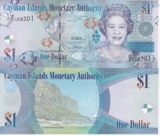 Cayman Islands  - 1 Dollar 2010 UNC Lemberg-Zp