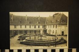 CP, 01, SIMANDRE Sur SURAN Chartreuse De SELIGNAT La Cour Et Le Jet D'Eau Vierge Ed L Ravier - Otros Municipios
