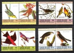 Union Island 1985 - Bicentenario Della Nascita Di John James Audubon Bicentennial Of The Birth Uccelli Birds MNH ** - St.Vincent E Grenadine