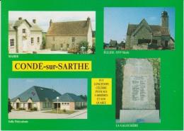 Timbre : Carte  1 Er  Jour ?  Condé  Sur  Sarthe  Prés  Alençon    1989 - France