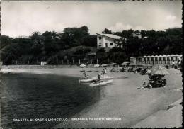 CALETTA DI CASTIGLIONCELLO    -F G -  VIAGGIATA -1951 - Livorno