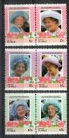 Tuvalu Vaitupu 1985 - Regina Madre Elisabetta Queen Mother Elizabeth MNH ** - Tuvalu