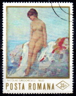 "ROMANIA 1971 Paintings Of Nudes -  35b. - ""Nude"" (N. Grigorescu)   FU - 1948-.... Repúblicas"
