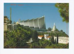 Basilica of our Lady Harissa postcard Lebanon church  , carte postale Liban eglise
