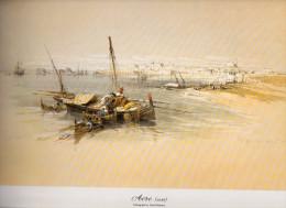 REPRODUCTION D´UNE LITHOGRAPHIE DE DAVID ROBERTS 1839 SAINT JEAN D'ACRE - Unclassified