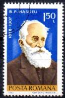 ROMANIA 1982 Anniversaries -  1l.50 - Bodgan P. Hasdeu (historian, 75th Death Anniv)   FU - 1948-.... Republics