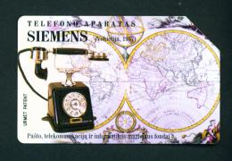 LITHUANIA - Urmet Phonecard As Scan - Lithuania