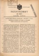 Original Patentschrift - Dr. W. Möller - Holtkamp In Werden B. Essen , 1905 , Apparat Zum Trocknen Von Garn !!! - Maschinen