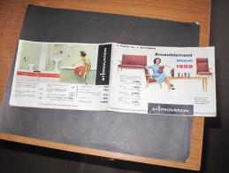 DEPLIANT PUBLICITAIRE - A L'INNOVATION à Partir De Septembre 1959 - Ameublement Home - Catalogue - 1950 - ...