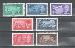Y & T N° 203/209( 7 VAL) ** - NEUF SANS CHARNIERE - MNH - DDR
