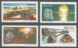 South Africa. 1984 Strategic Minerals. MNH Complete Set. SG 558-561 - South Africa (1961-...)