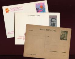 Polen, Poland,  Ganzsachen 1946 & 1972 - Stamped Stationery