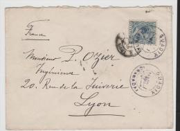 Ep034/ Brief, Guadix - Lyon 1893 Via Irun